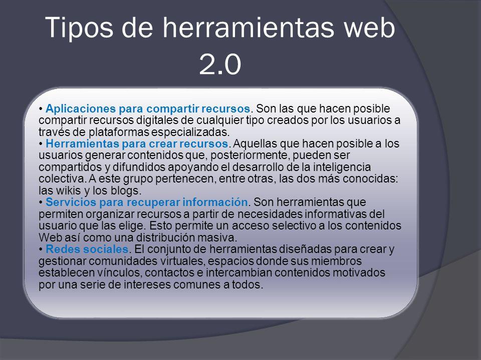 Web 2.0 y educación Web 2.0 es una forma de entender Internet que, con la ayuda de nuevas herramientas y tecnologías de corte informático, promueve qu