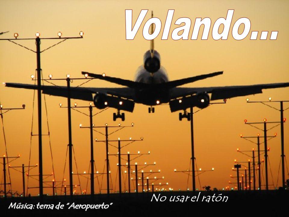 Música: tema de Aeropuerto No usar el ratón