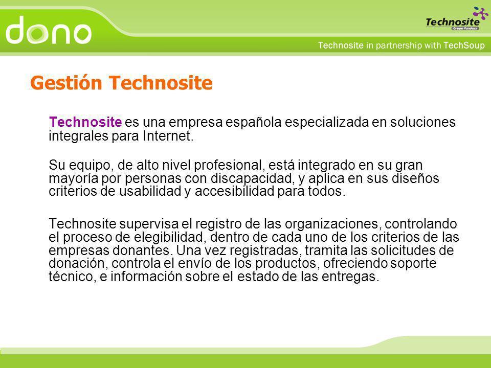 Technosite es una empresa española especializada en soluciones integrales para Internet. Su equipo, de alto nivel profesional, está integrado en su gr