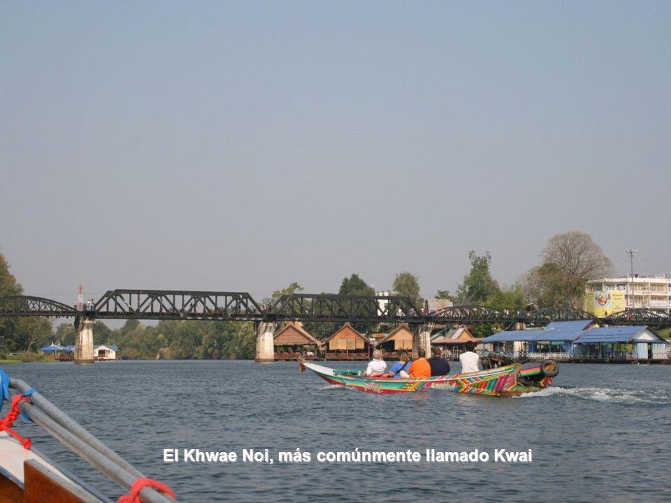 El puente del río Kwai en 2003 El puente del río Kwai en 2003