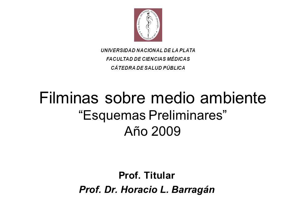 Filminas sobre medio ambiente Esquemas Preliminares Año 2009 Prof.