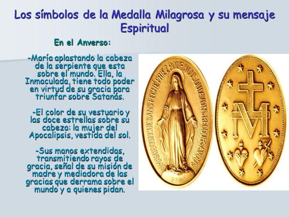 El Arzobispo de París permitió fabricar la medalla tal cual había aparecido en la visión, y al poco tiempo empezaron los milagros. (lo que consigue fa