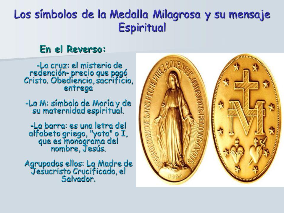 En el Reverso: -La cruz: el misterio de redención- precio que pagó Cristo.
