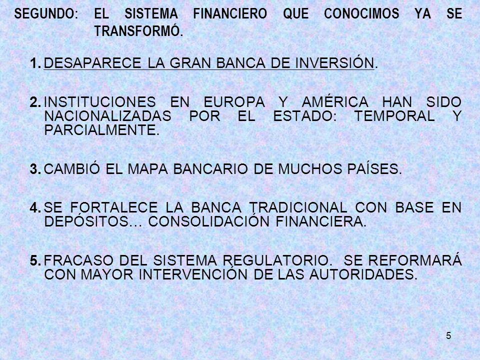16 5.PISTAS FUNDAMENTALES DE OPORTUNIDAD.a)PREVEER REFORMA FISCAL INTEGRAL.