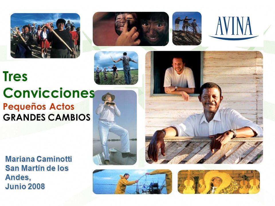 Liderazgos para el desarrollo sostenible en América Latina Tres Convicciones Pequeños Actos GRANDES CAMBIOS Mariana Caminotti San Martín de los Andes,