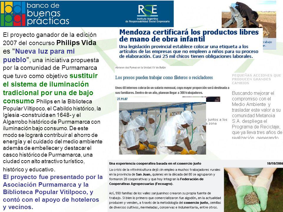 El proyecto ganador de la edición 2007 del concurso Philips Vida es