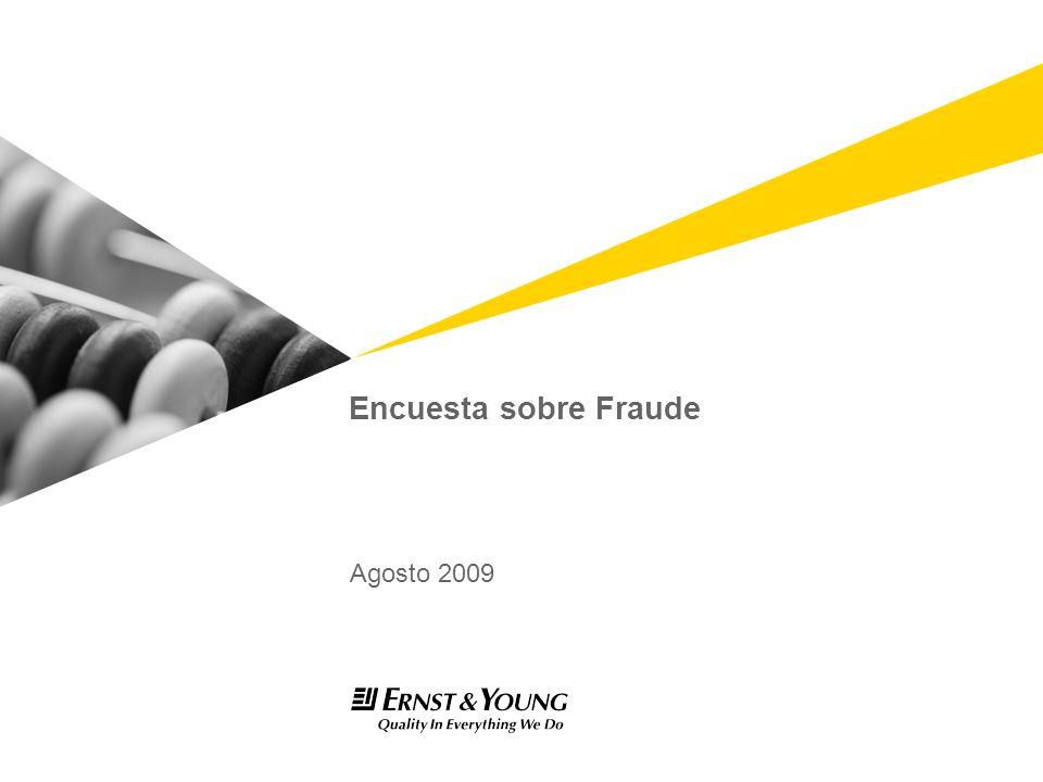 Encuesta sobre Fraude Agosto 2009