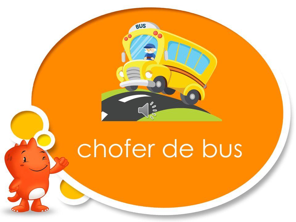 chofer de bus