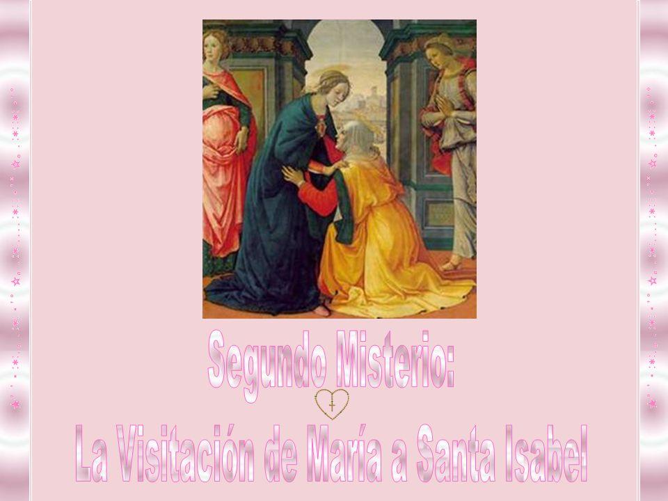 El ángel te saluda Ave María , estás llena de gracia ante el Señor, eres mujer bendita por tu amor, y en ti espera cumplir la profecía.