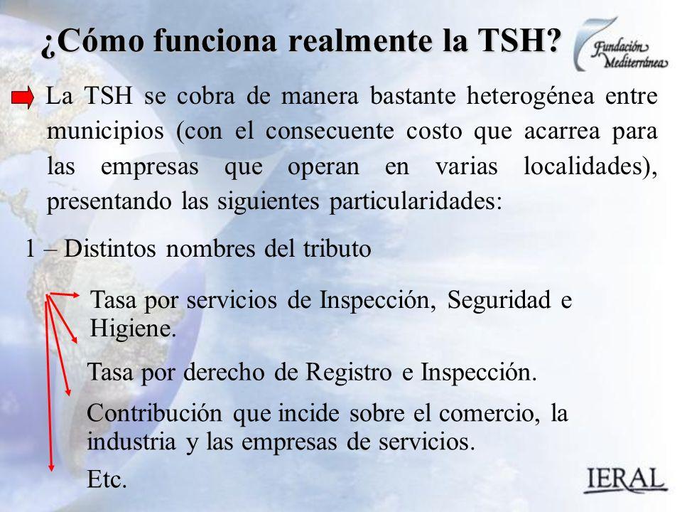 ¿Cómo funciona realmente la TSH.