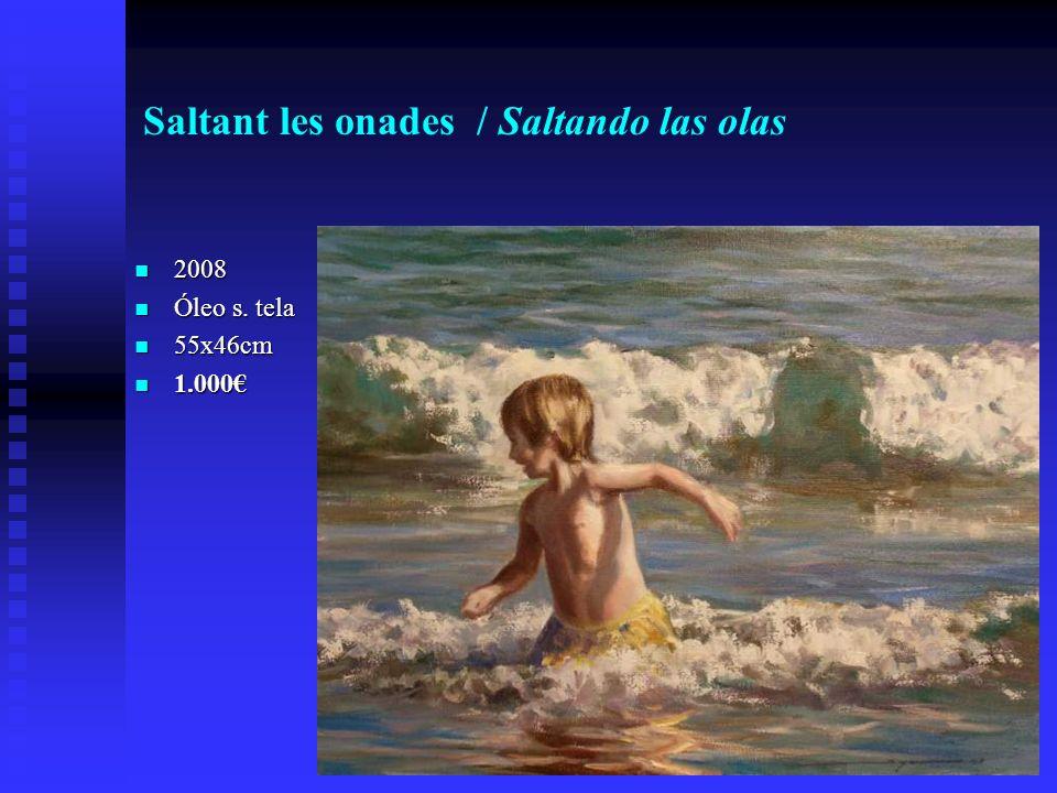 Saltant les onades / Saltando las olas 2008 2008 Óleo s.