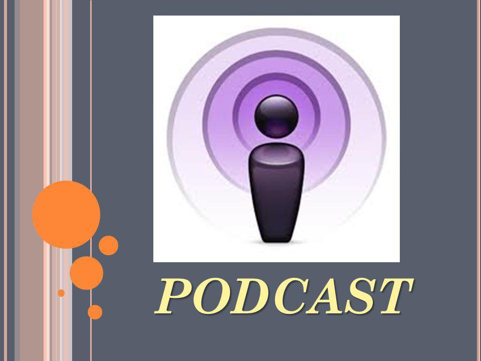 ORIGEN DE LA PALABRA P ODCAST La palabra podcast está formada de dos palabras : iPod y broadcasting.