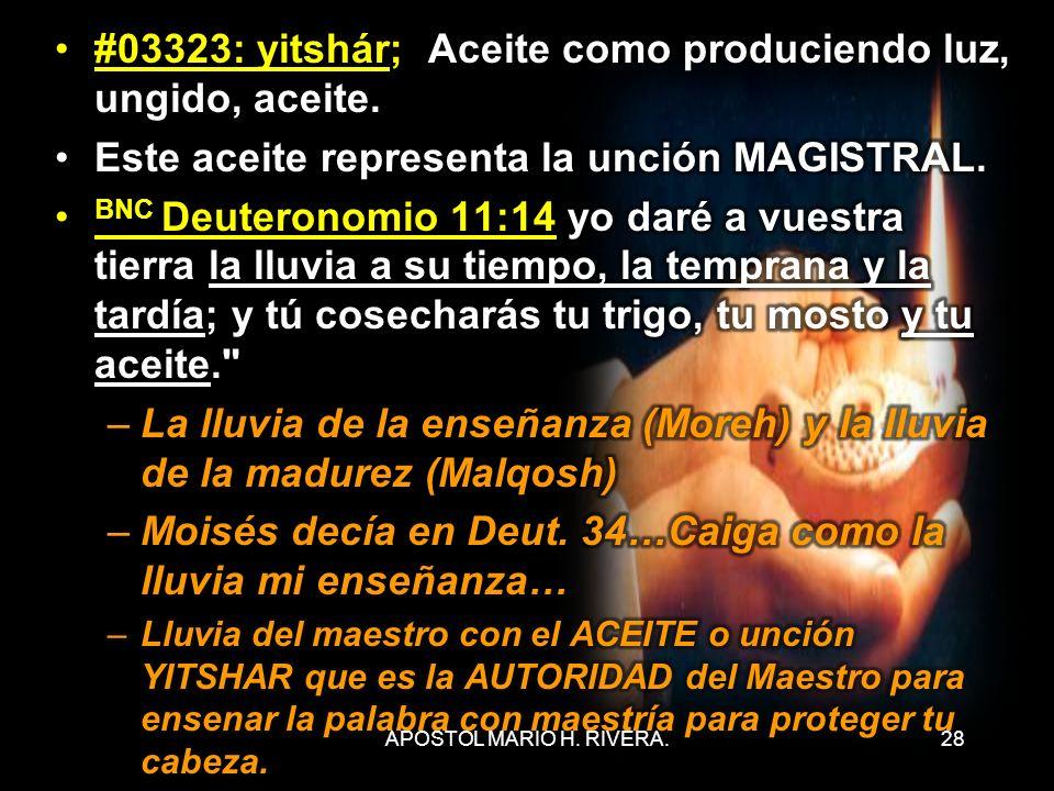 28APOSTOL MARIO H. RIVERA.