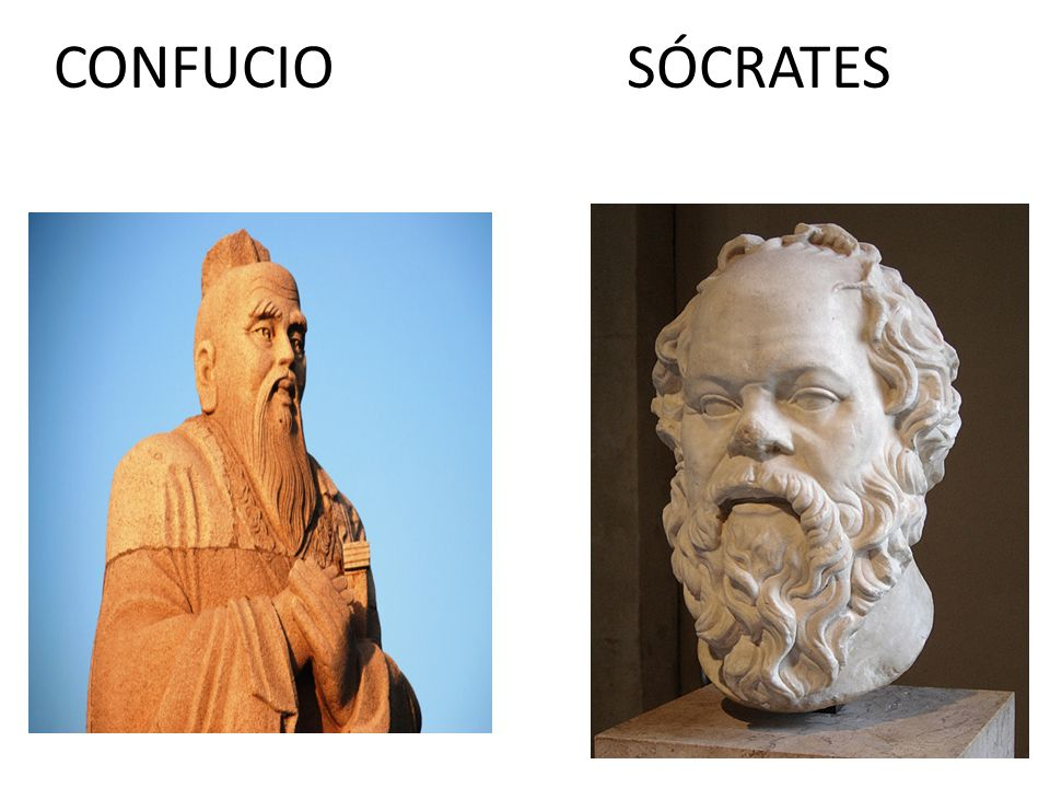 CONFUCIO SÓCRATES