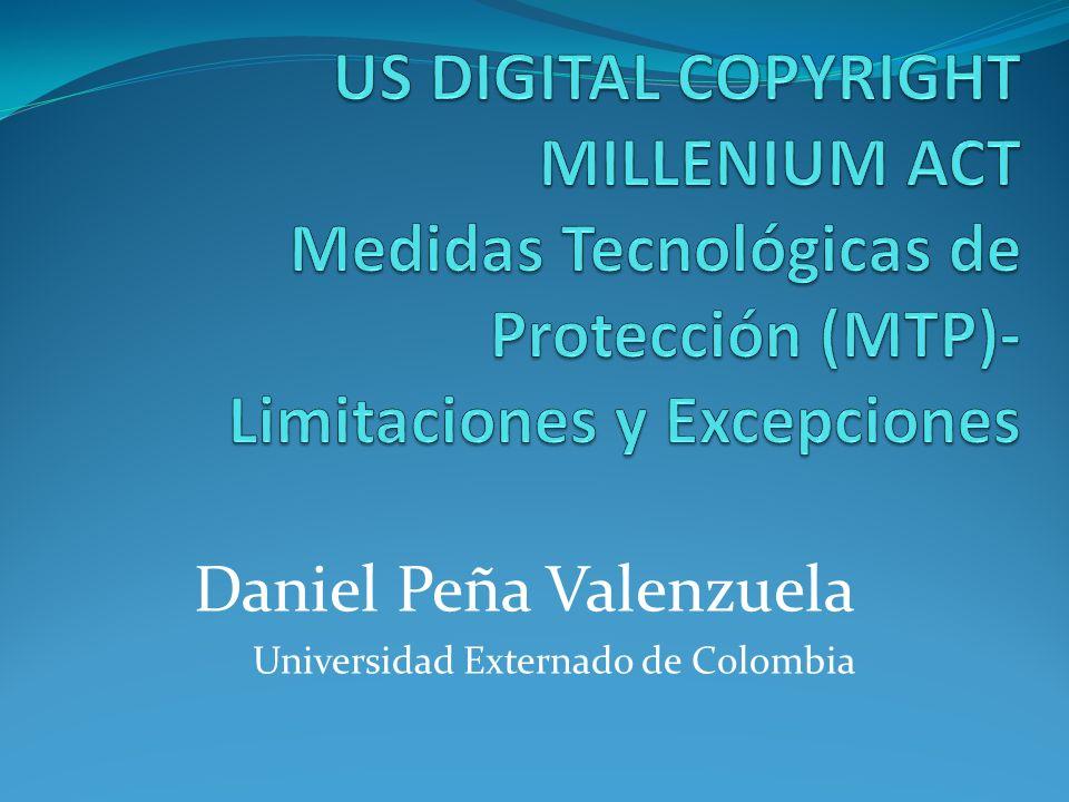 Daniel Peña Valenzuela Universidad Externado de Colombia