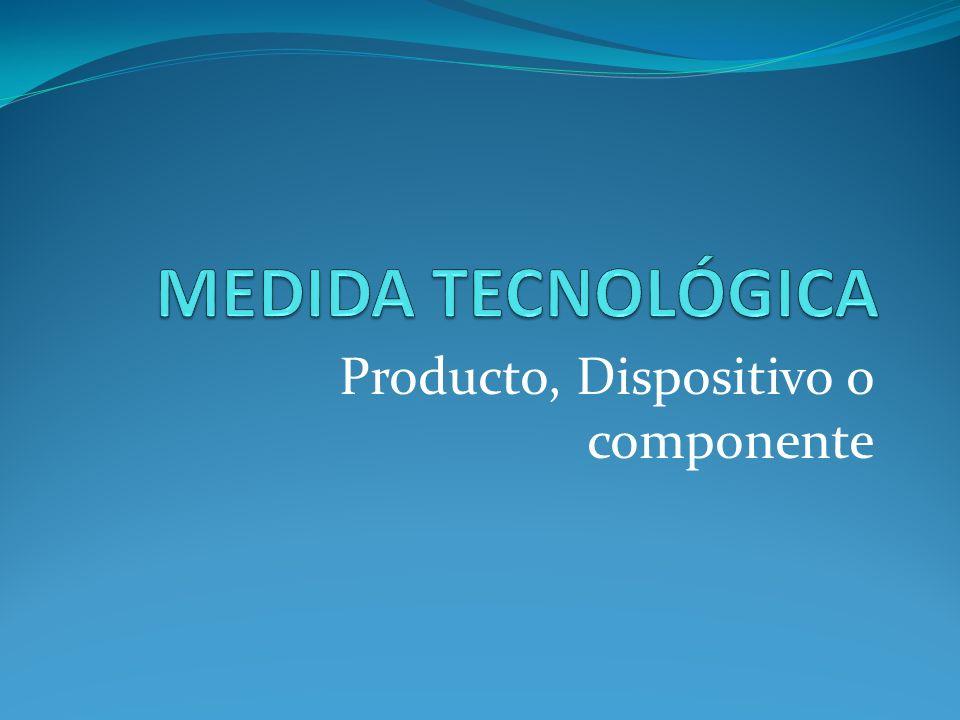 Producto, Dispositivo o componente