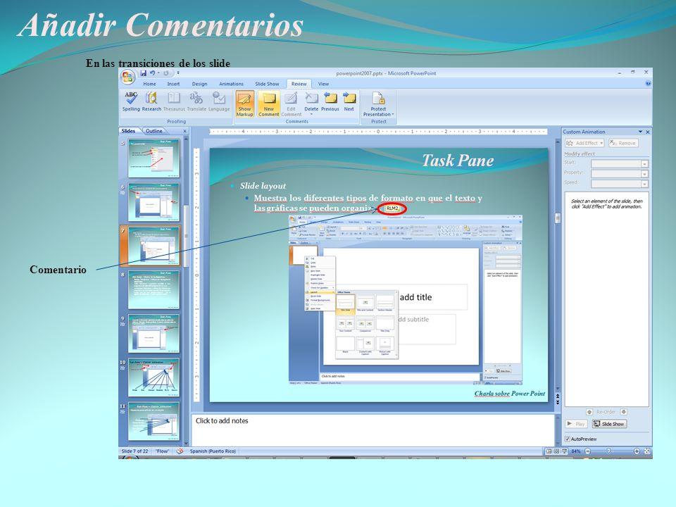 Otros Comados de interés Charla sobre Power Point Save as web page - Comando para guardar una presentación como página de internet Diferentes formatos