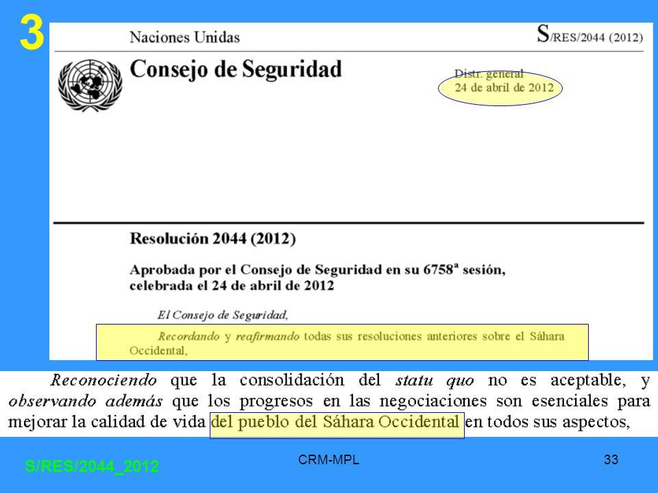 CRM-MPL33 3 S/RES/2044_2012