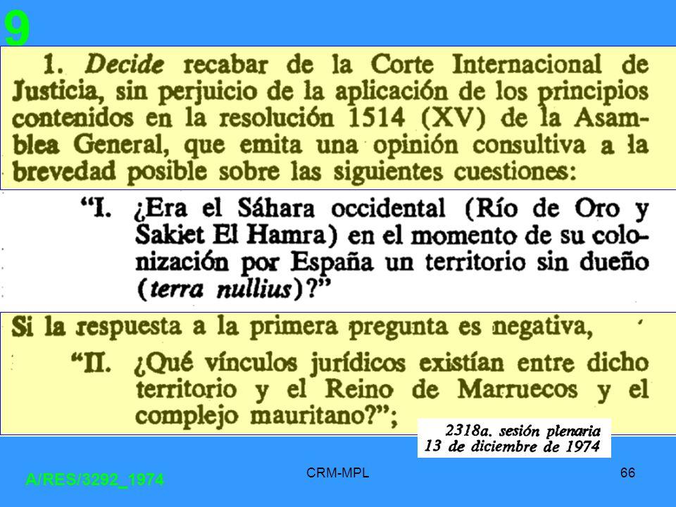 CRM-MPL66 A/RES/3292_1974 9
