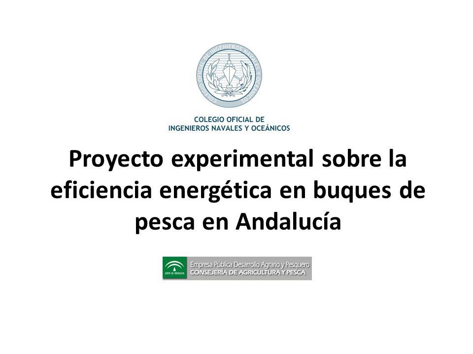 Proyecto experimental sobre la eficiencia energética en buques de pesca en Andalucía