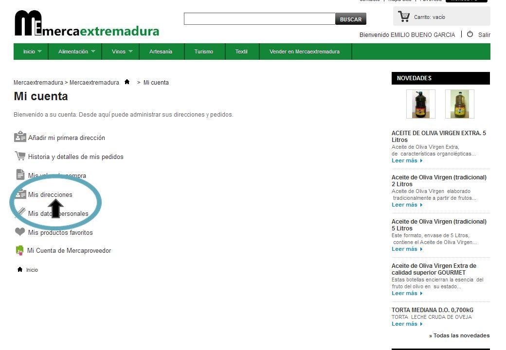 TUTORIAL PARA CONVERTIRSE EN MERCAPROVEEDOR * PASO 15: DENTRO DE MI CUENTA DE MERCA PROVEEDOR.