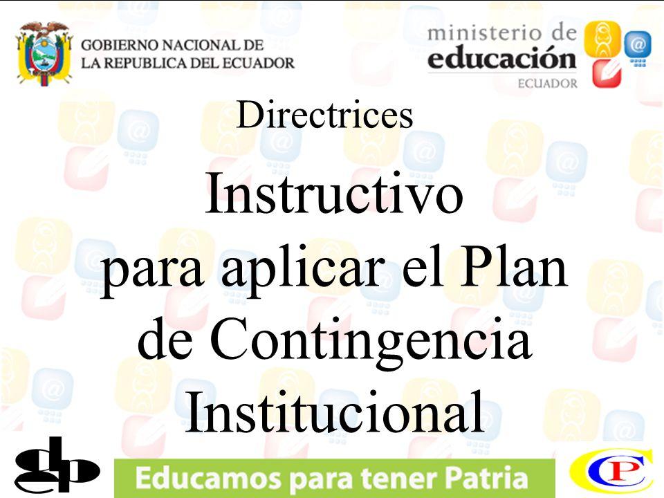 COMISIÓN DE CONTINGENCIA Institucional
