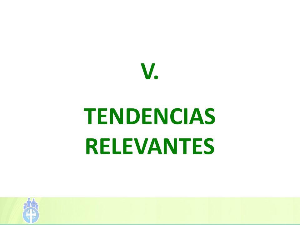 V. TENDENCIAS RELEVANTES