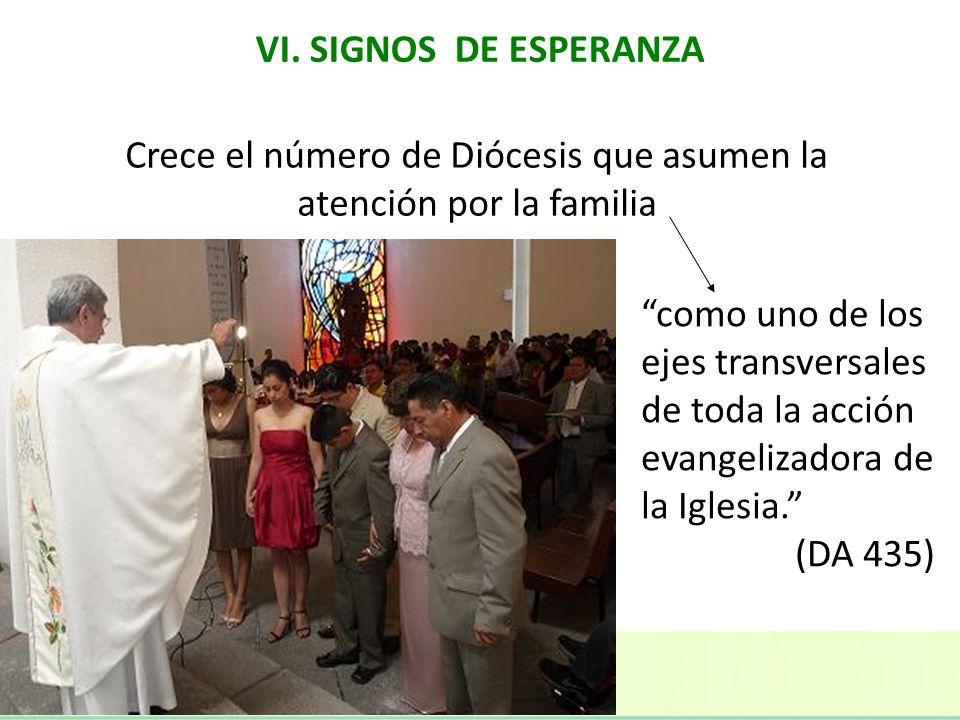 Crece el número de Diócesis que asumen la atención por la familia como uno de los ejes transversales de toda la acción evangelizadora de la Iglesia. (
