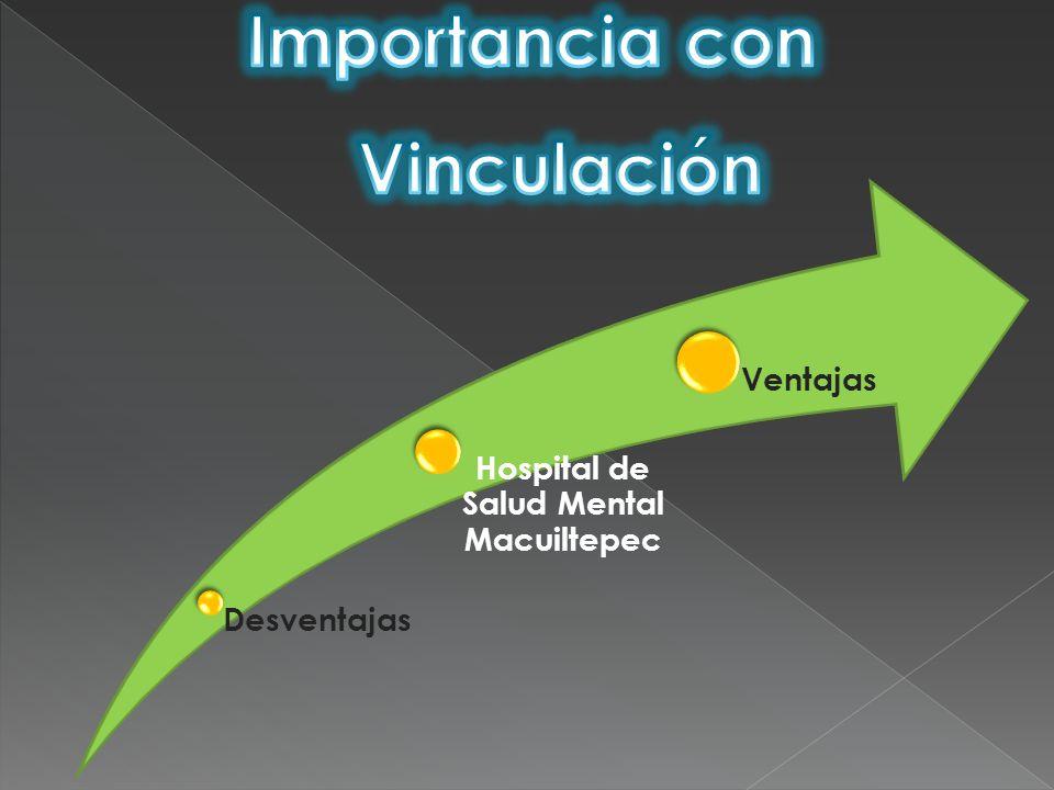 Desventajas Hospital de Salud Mental Macuiltepec Ventajas