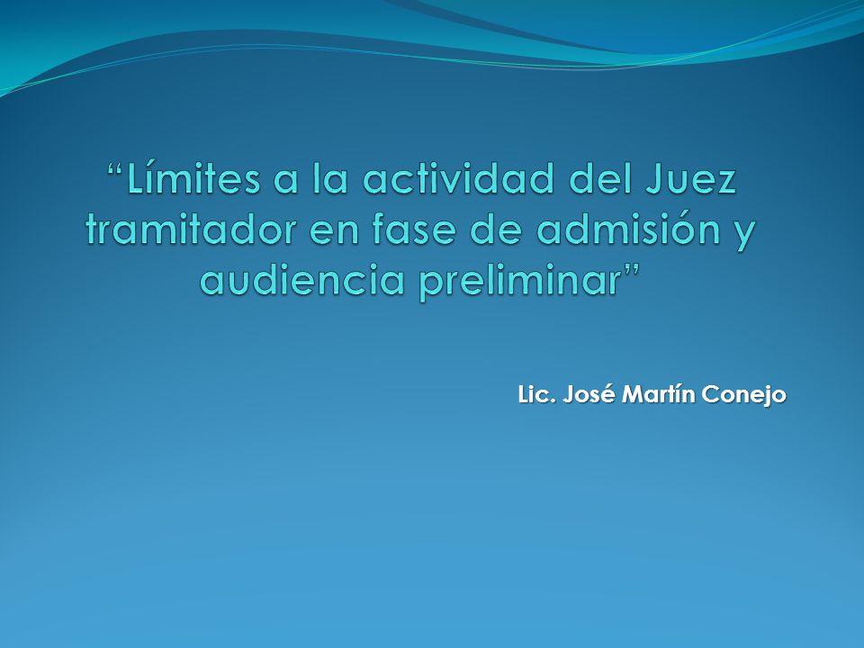 Lic. José Martín Conejo