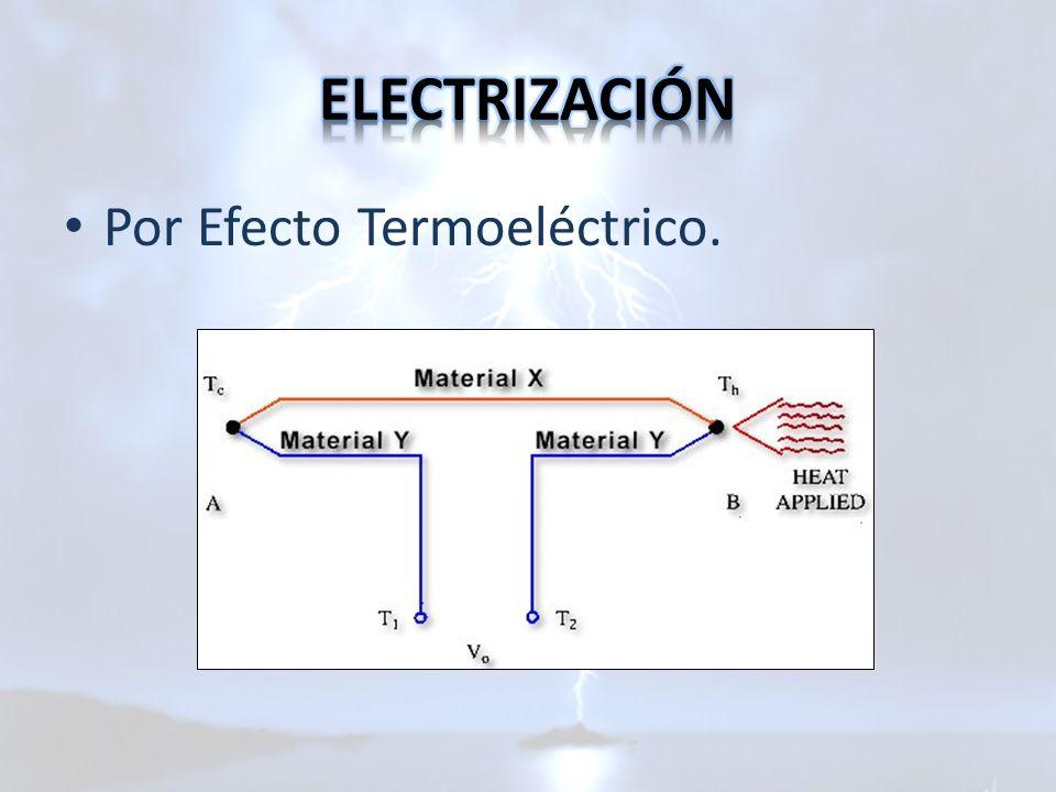 Por Efecto Termoeléctrico.