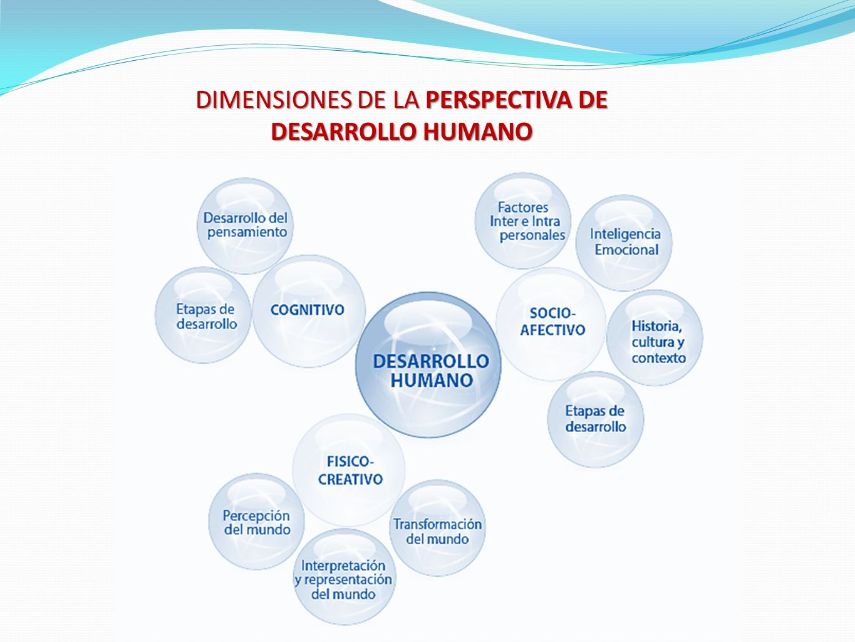 DIMENSIONES DE LA PERSPECTIVA DE DESARROLLO HUMANO