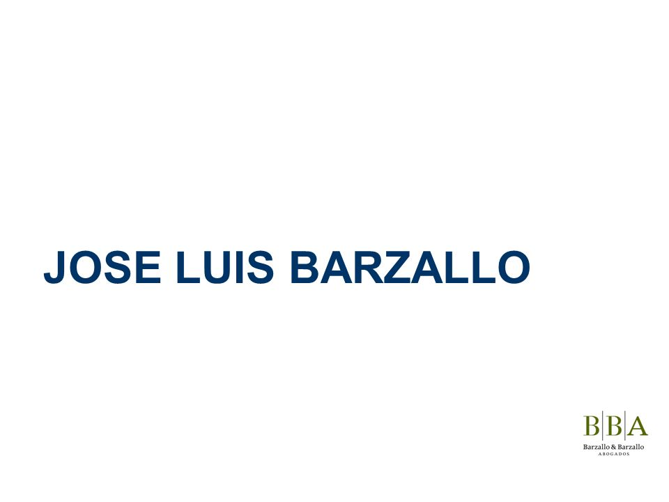 JOSE LUIS BARZALLO