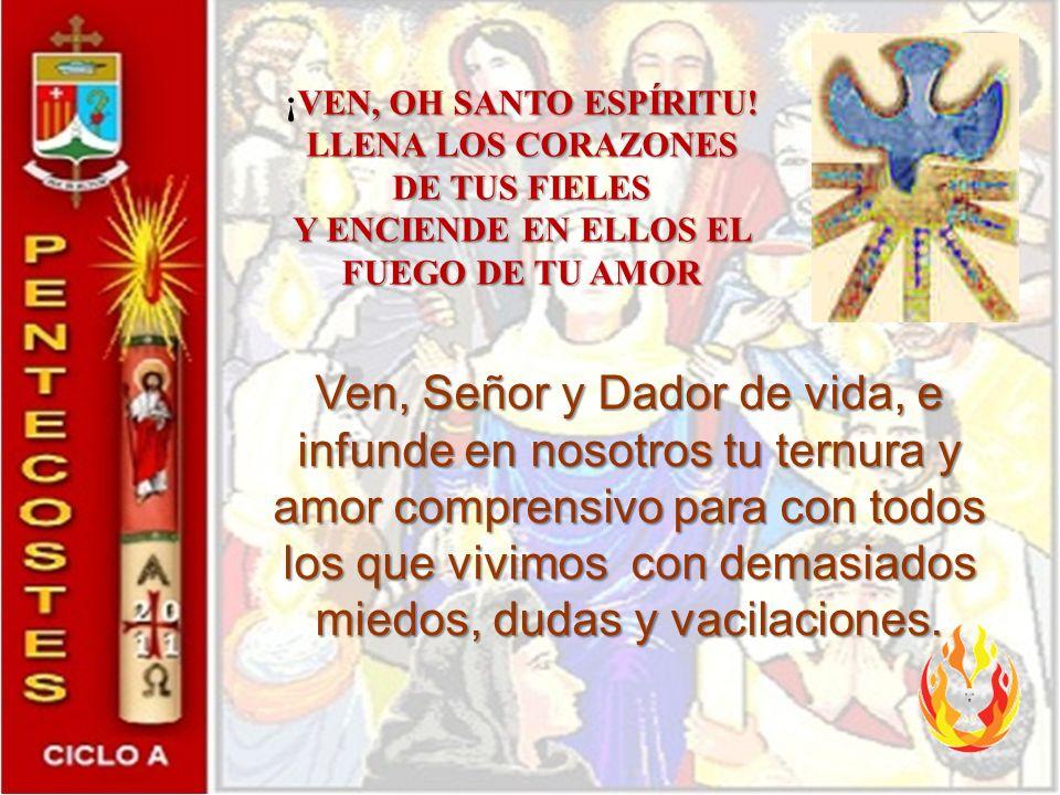 Relación con la Eucaristía El relato de Pentecostés es lo que ocurre en la celebración.
