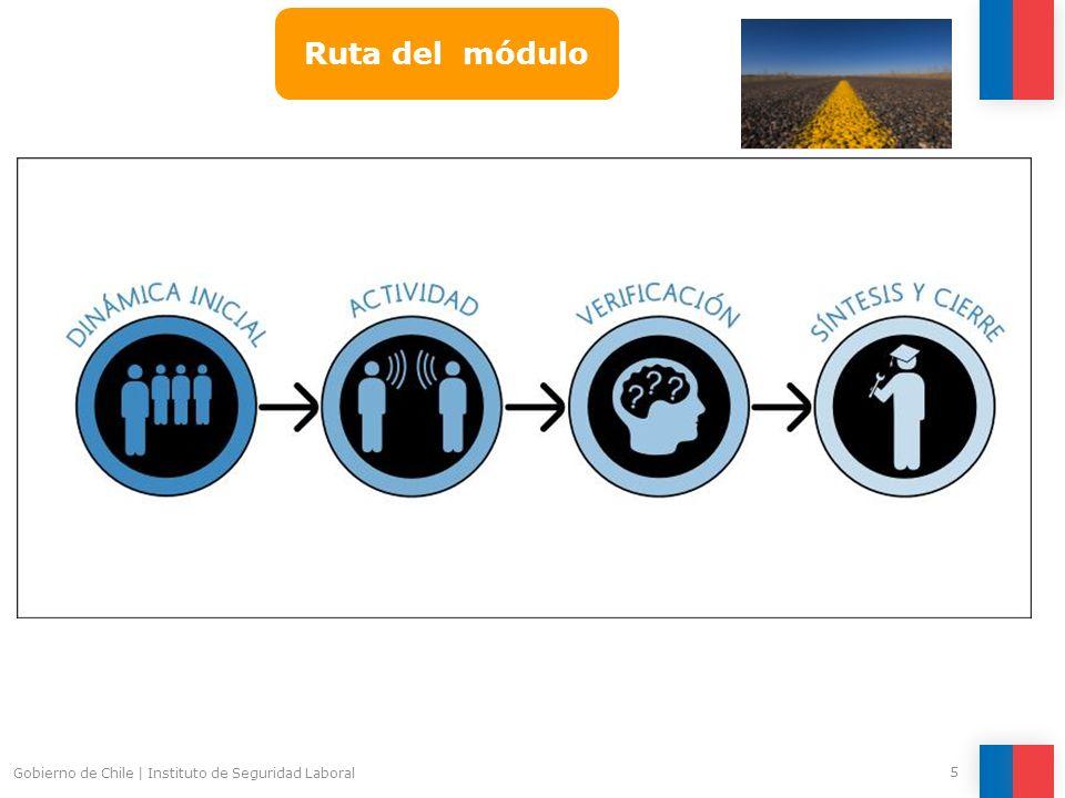 Gobierno de Chile   Instituto de Seguridad Laboral 5 Ruta del módulo