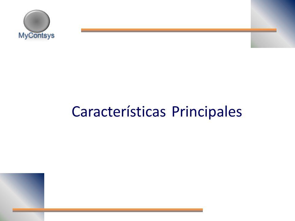MyContsys MyContsys Características Principales