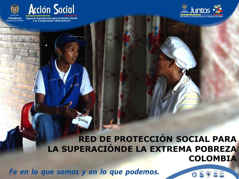 RED DE PROTECCIÓN SOCIAL PARA LA SUPERACIÓNDE LA EXTREMA POBREZA COLOMBIA