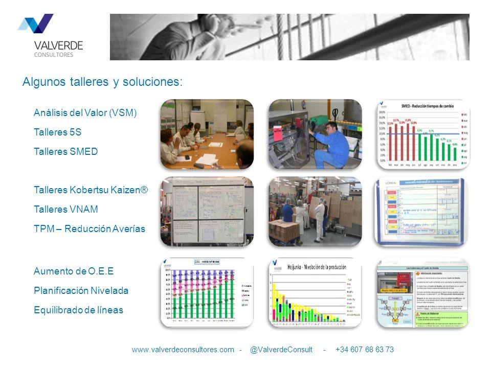Trabajar con nosotros es garantía de mejora 10 www.valverdeconsultores.com - @ValverdeConsult - +34 607 68 63 73 VALVERDE CONSULTORES