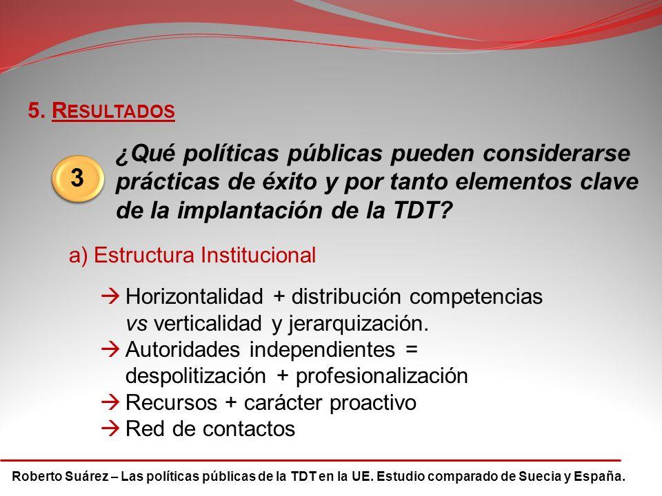 Roberto Suárez – Las políticas públicas de la TDT en la UE.