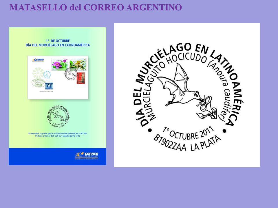 MATASELLO del CORREO ARGENTINO