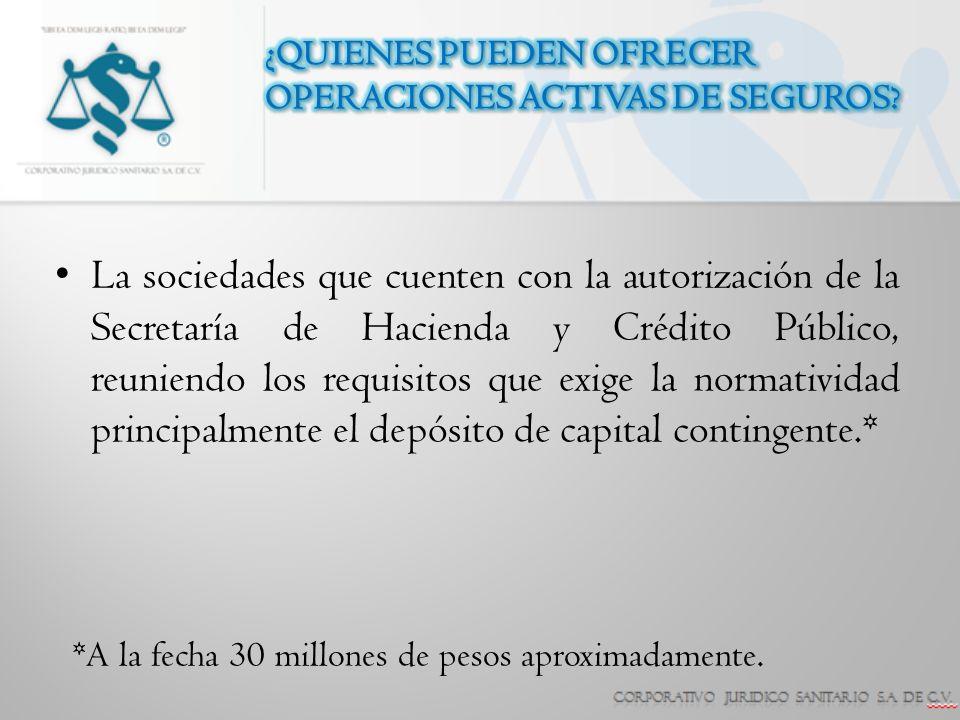 A.N.A.Compañía de Seguros, S.A. de C.V. ABA Seguros, S.A.