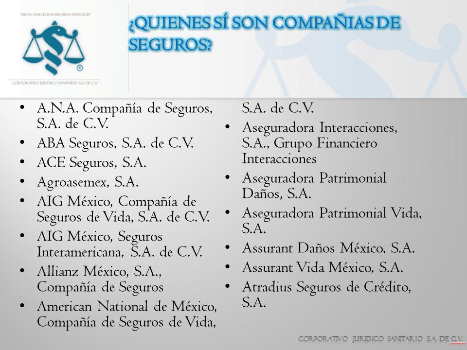 AXA Seguros, S.A.de C.V. BUPA México, Compañía de Seguros, S.A.
