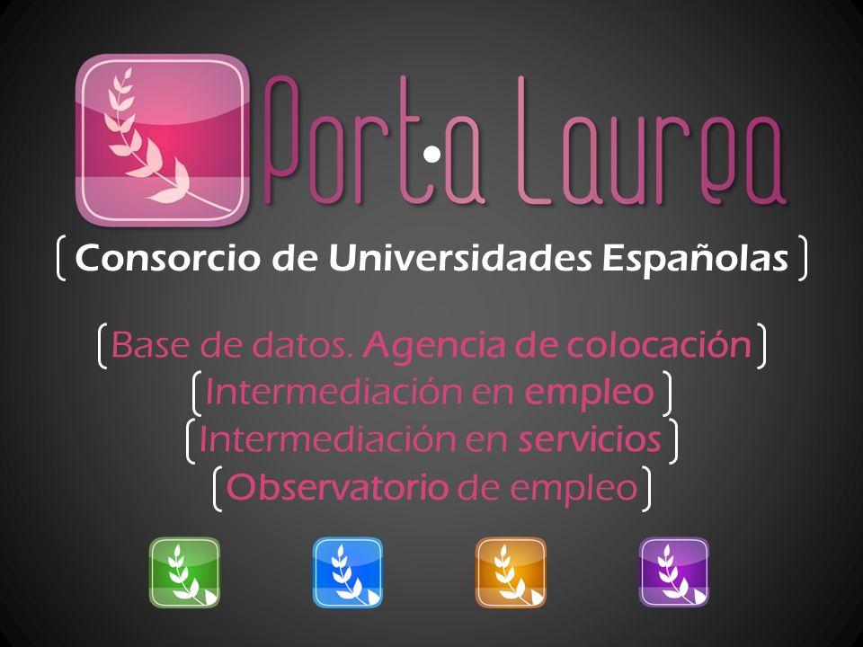 Consorcio de Universidades Españolas Base de datos.