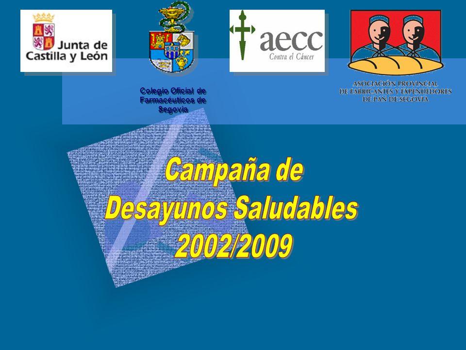 Campaña de Desayunos Saludables y del Corazón Justificación de la Campaña ¡¡¡85%!!.