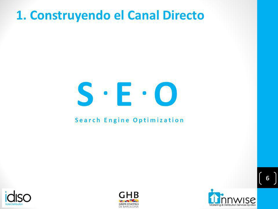 6 1. Construyendo el Canal Directo S. E. O Search Engine Optimization