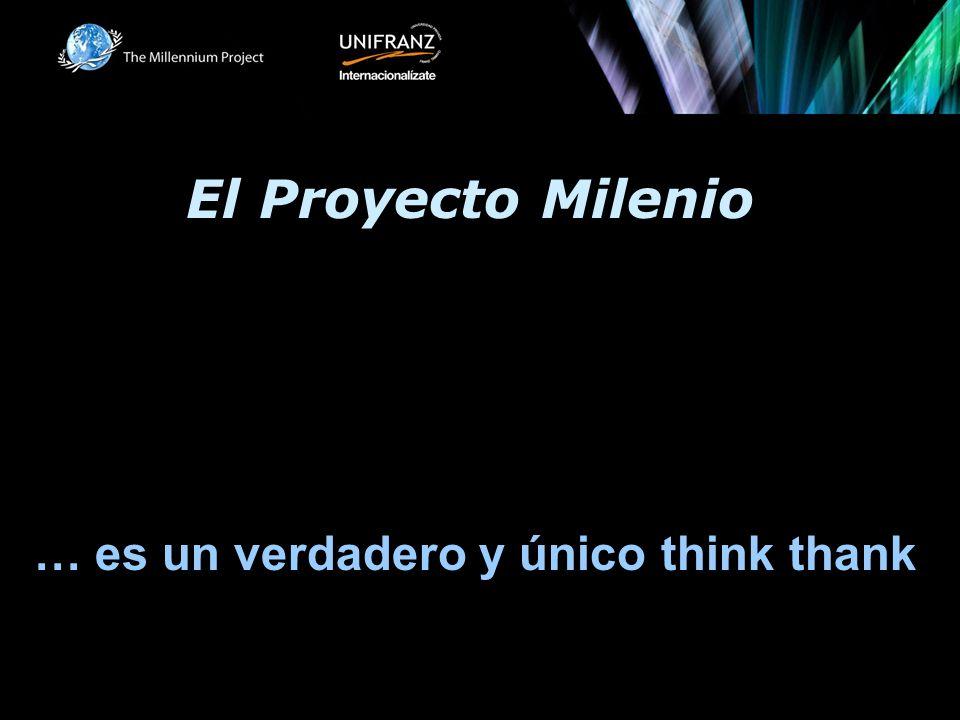 El Proyecto Milenio … es un verdadero y único think thank