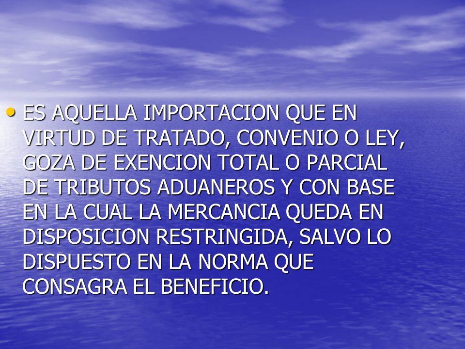 IMPORTACION DE EQUIPOS Y ELEMENTOS POR INSTITUCIONES DE EDUCACION SUPERIOR, CENTROS DE INVESTIGACION Y CENTROS DE DESARROLLO TECNOLOGICO RECONOCIDOS POR COLCIENCIAS, EXONERADOS DEL IMPUESTO SOBRE LAS VENTAS.