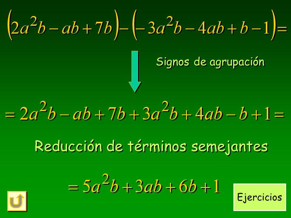 Revisitando un ejemplo... ¿qué sucedió con las expresiones algebraicas?