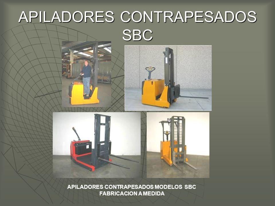 APILADORES CONTRAPESADOS SBC APILADORES CONTRAPESADOS MODELOS SBC FABRICACION A MEDIDA