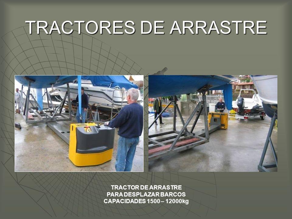 TRACTORES DE ARRASTRE TRACTOR DE ARRASTRE PARA DESPLAZAR BARCOS CAPACIDADES 1500 – 12000kg